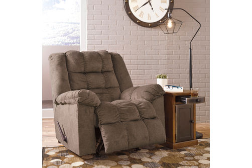 Signature Design by Ashley Drakestone-Autumn Heat and Massage Rocker Recliner- Room View Reclining