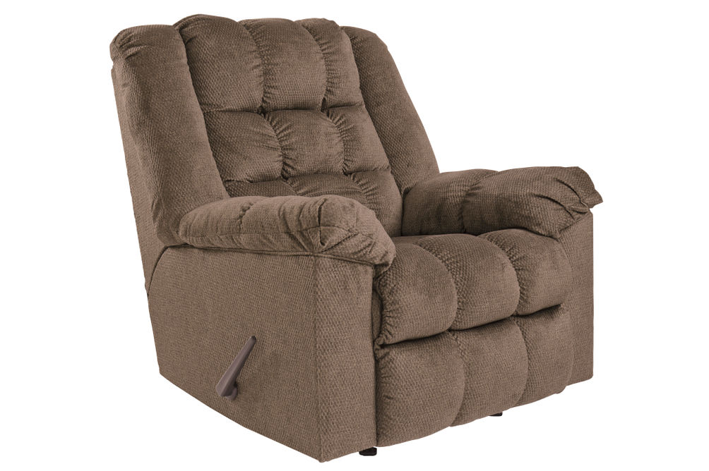 Signature Design by Ashley Drakestone-Autumn Heat and Massage Rocker Recliner