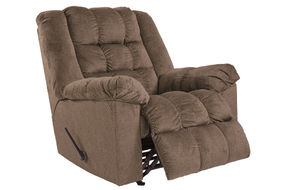Signature Design by Ashley Drakestone-Autumn Heat and Massage Rocker Recliner- Reclining