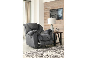Signature Design by Ashley Capehorn-Granite Rocker Recliner - Reclining View