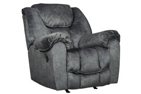 Signature Design by Ashley Capehorn-Granite Rocker Recliner