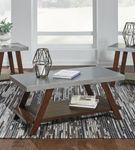 Signature Design by Ashley Bellenteen Coffee Table Set- Room View