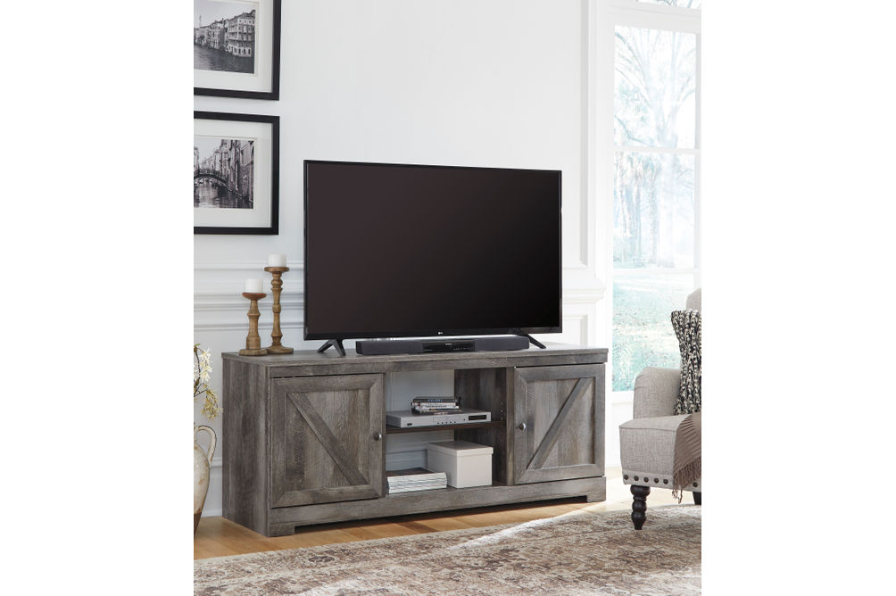 Signature Design by Ashley Wynnlow 63 Inch TV Stand - Room View