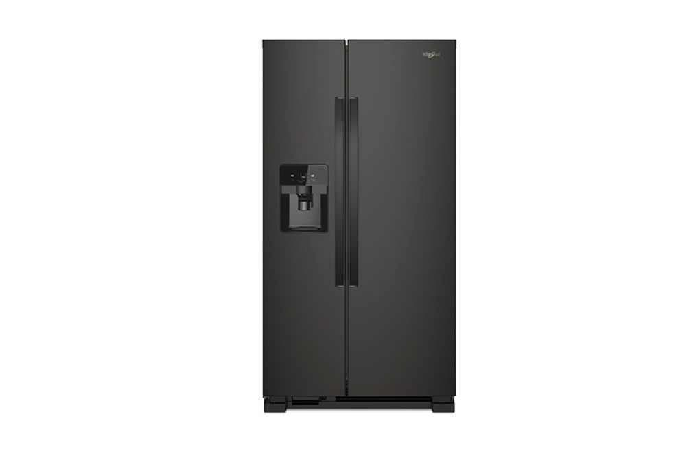 Whirlpool Black 21 Cu. Ft. French Door Refrigerator