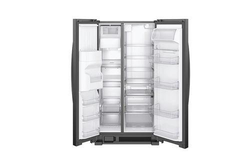 Whirlpool Black 21 Cu. Ft. French Door Refrigerator - Open View