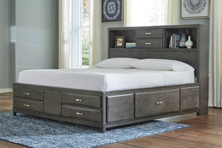 Signature Design by Ashley Caitbrook Platform Queen Bed- Room View
