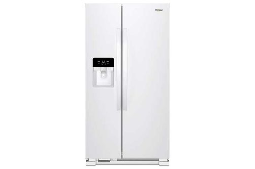 Whirlpool White 21 Cu. Ft. French Door Refrigerator