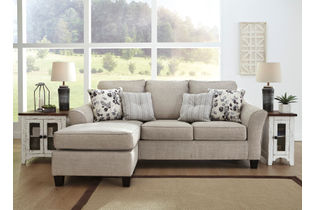 Benchcraft Abney Driftwood Sofa Chaise - Room View