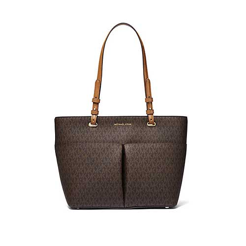 Michael Kors Bedford Medium Signature Tote - Brown