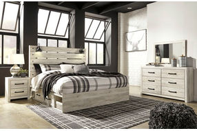 Signature Design by Ashley Cambeck 6-Piece King Bedroom Set- Bedroom View