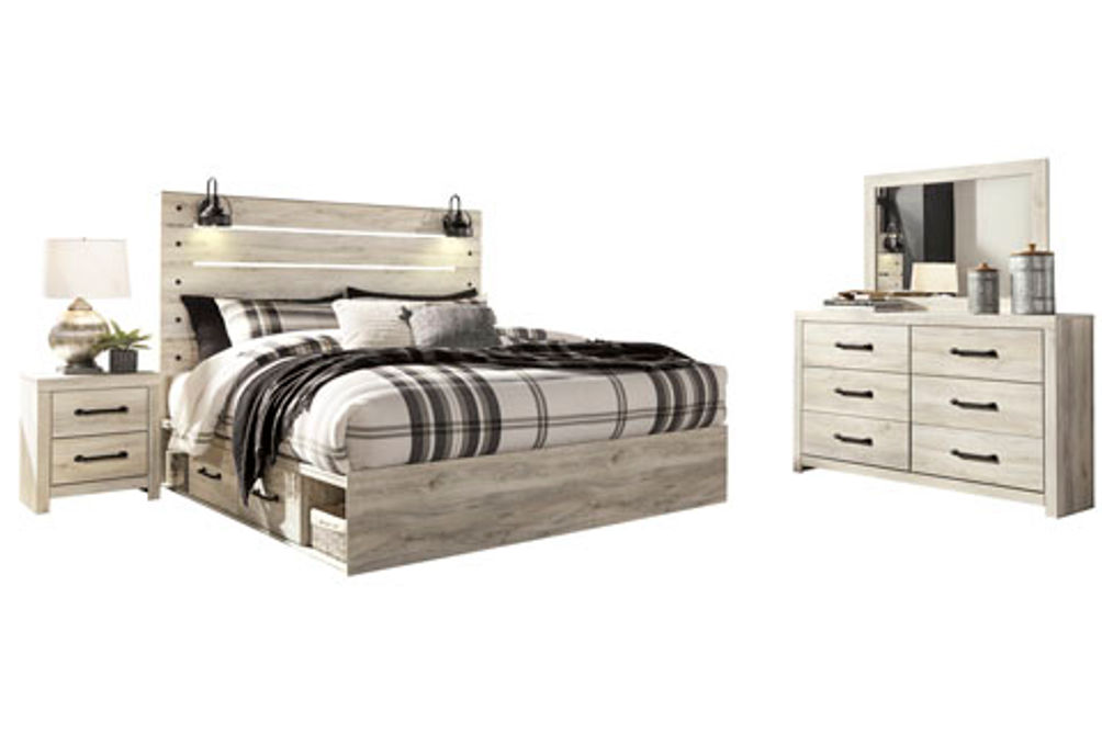 Signature Design by Ashley Cambeck 6-Piece King Bedroom Set