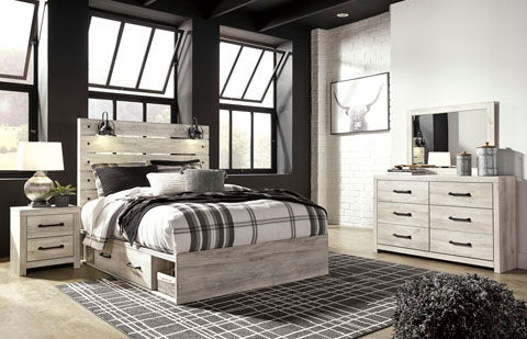 Rent Signature Design By Ashley Cambeck 6 Piece Queen Bedroom Set Same Day Delivery At Rent A Center