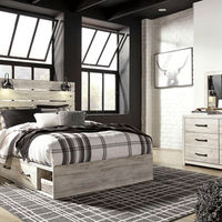 Signature Design by Ashley Cambeck 6-Piece Queen Bedroom Set - Room View
