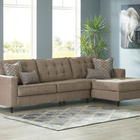 "Signature Design by Ashley ""Flintshire-Auburn"" RAF Chaise Sectional"