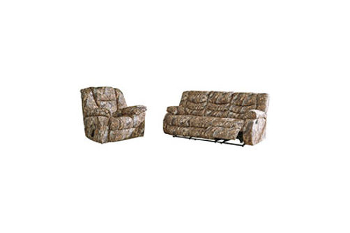 Signature Design by Ashley Gladewater Reclining Sofa and Recliner