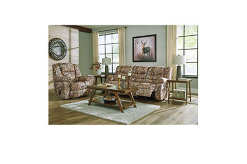 Signature Design by Ashley Gladewater Reclining Sofa and Recliner- Room View