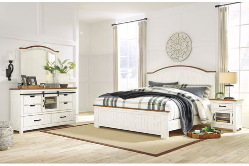 Benchcraft Wystfield 6 Piece Queen Bedroom Set Same Day Delivery