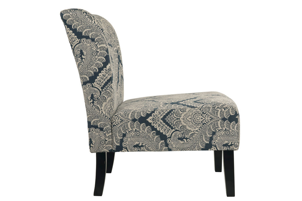 Signature Design by Ashley Honnally - Sapphire  Accent Chair - Side View