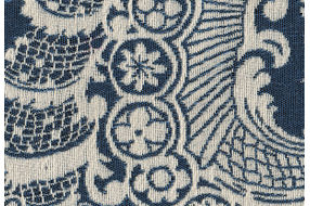 Signature Design by Ashley Honnally - Sapphire  Accent Chair - Fabric Swatch