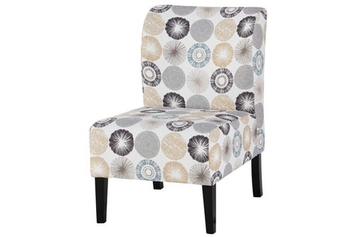 Signature Design by Ashley Triptis Gray and Tan Design Accent Chair