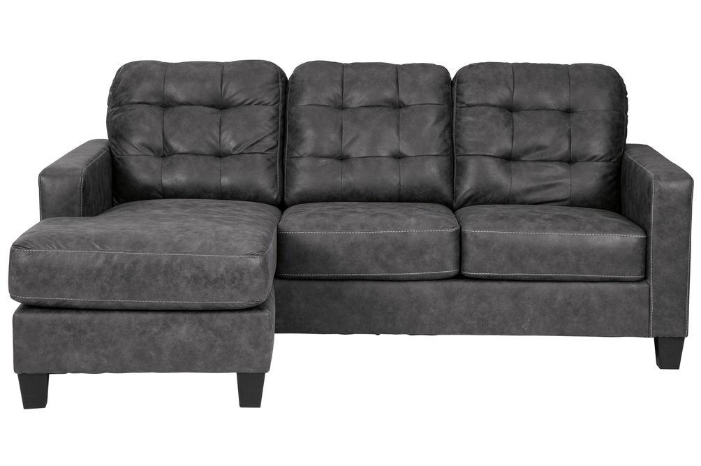 Benchcraft Venaldi-Gunmetal Sofa Chaise