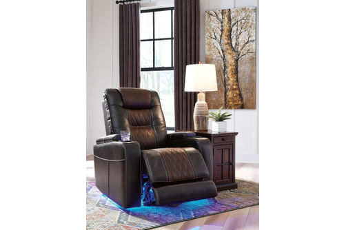 Signature Design by Ashley Composer-Brown Power Recliner - Features
