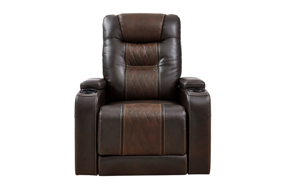 Signature Design by Ashley Composer-Brown Power Recliner