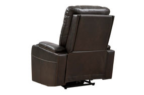 Signature Design by Ashley Composer-Brown Power Recliner -  Back View