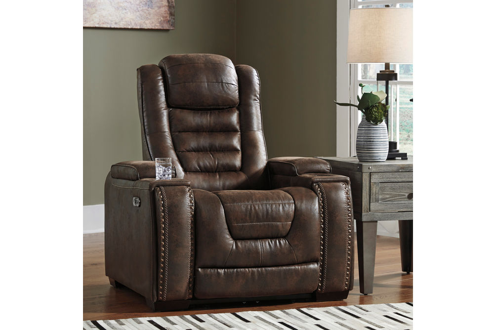 Signature Design by Ashley Game Zone Power Recliner- Room View