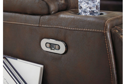 Signature Design by Ashley Game Zone Power Recliner - One Touch Power Control