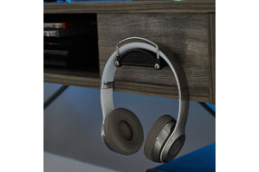 Signature Design by Ashley Barolli-Gray Gaming Desk- Headset hanger