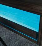Signature Design by Ashley Barolli-Gray Gaming Desk- LED Back light