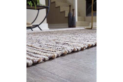 Signature Design by Ashley Kallita Natural/Brown Indoor Accent Rug - Texture