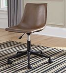 Signature Design by Ashley Brown Swivel Home Office Desk Chair- Room View