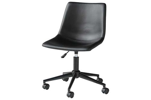 Signature Design by Ashley Black Swivel Home Office Desk Chair