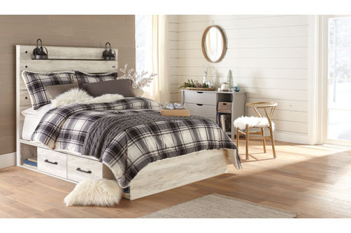Signature Design by Ashley Cambeck Queen Storage Bed- Room View