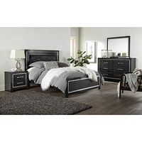 Signature Design by Ashley Kaydell 6-Piece Queen Bedroom Set- Room View