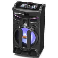 Edison Professional 4500W Party System 850 Bluetooth Speaker