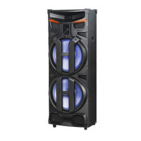 Edison Professional 2500W Party System 450 Bluetooth Speaker