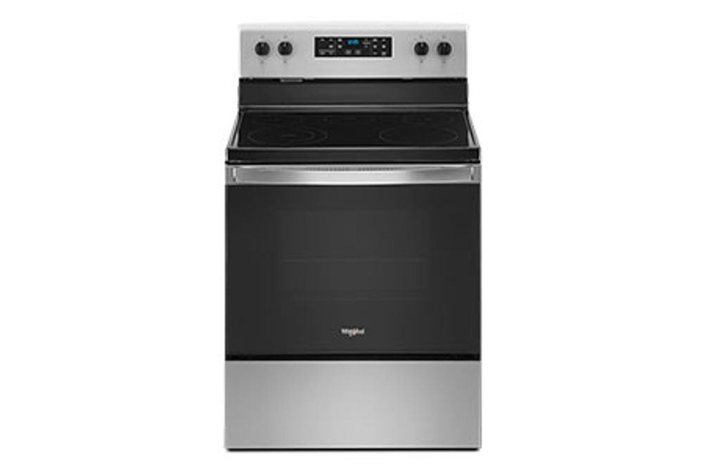 Whirlpool Stainless 5.3 Cu. Ft. Smooth-Top Electric Range