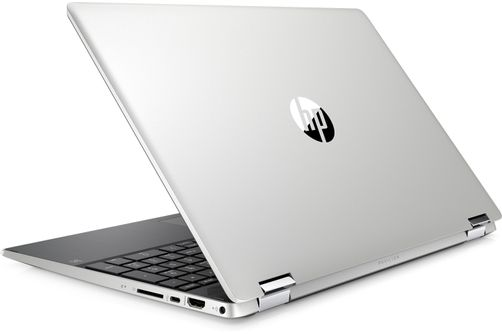HP 15.6 Inch Intel Core 2-in-1 Touchscreen Laptop- Cover View