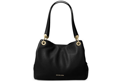 Michael Kors Raven Large Shoulder Bag - Black