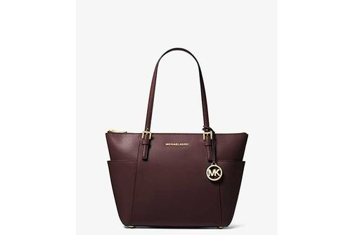 Michael Kors Jet Set East West Large Tote - Barolo