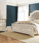 Signature Design by Ashley Realyn 6-Piece Queen Bedroom Set - Room View