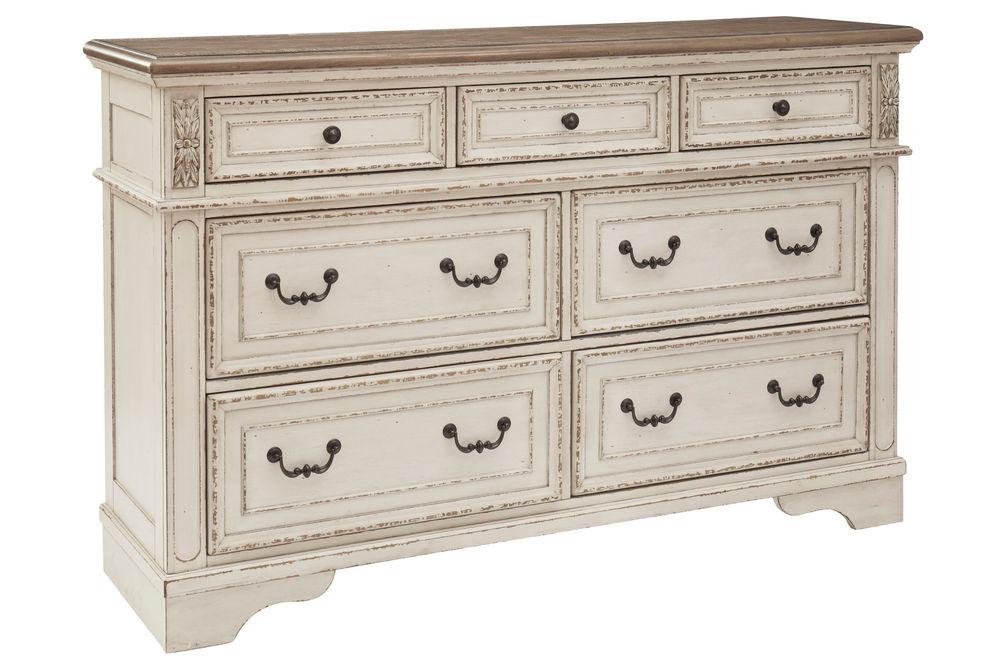 Signature Design by Ashley Realyn 6-Piece Queen Bedroom Set - Dresser