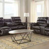 Signature Design by Ashley Wardner Reclining Sofa and Loveseat- Room View