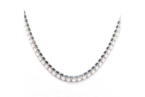 Mens Sterling Silver 4.5mm 24 Inch Box Chain