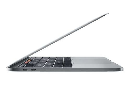 Refurbished 13.3 Inch MacBook Pro 2.3GHz Intel Core 5 Silver- Side View
