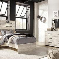 签名设计由阿什利坎贝克6件双卧室Set - Room View