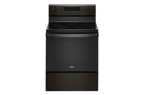 Whirlpool Black Stainless 5.3 Cu. Ft. Smooth-Top Electric Range